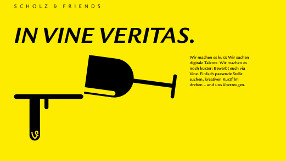 Scholz & Friends – In Vine Veritas